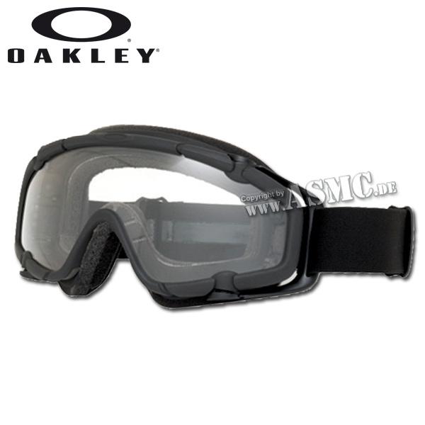 Brille Oakley S.I. Ballistic Goggle black/clear