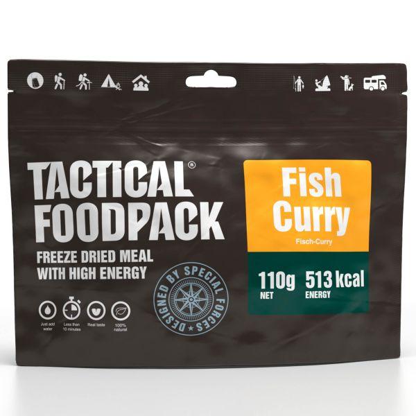 Tactical Foodpack Outdoor Nahrung Fischcurry und Reis