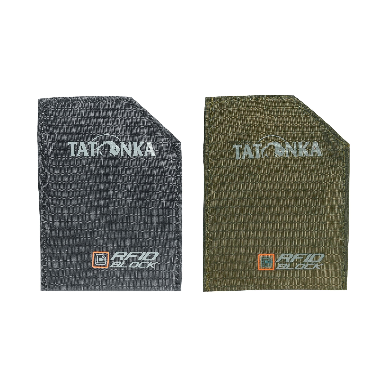 Tatonka Etui Set RFID B schwarz oliv