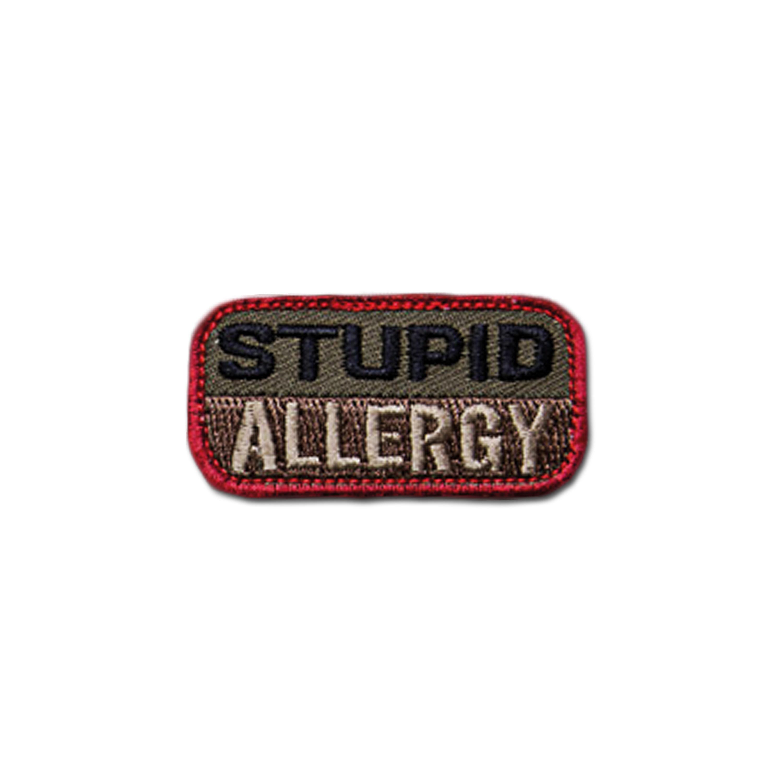 MilSpecMonkey Patch Stupid Allergie forest