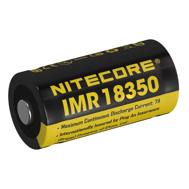 NiteCore Akku 18350IMR - 700mAh