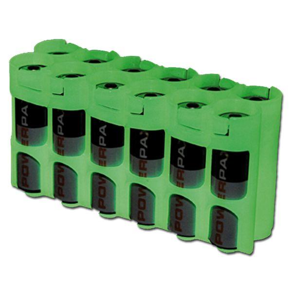 Batteriehalter Powerpax 12 x AA nachleuchtend