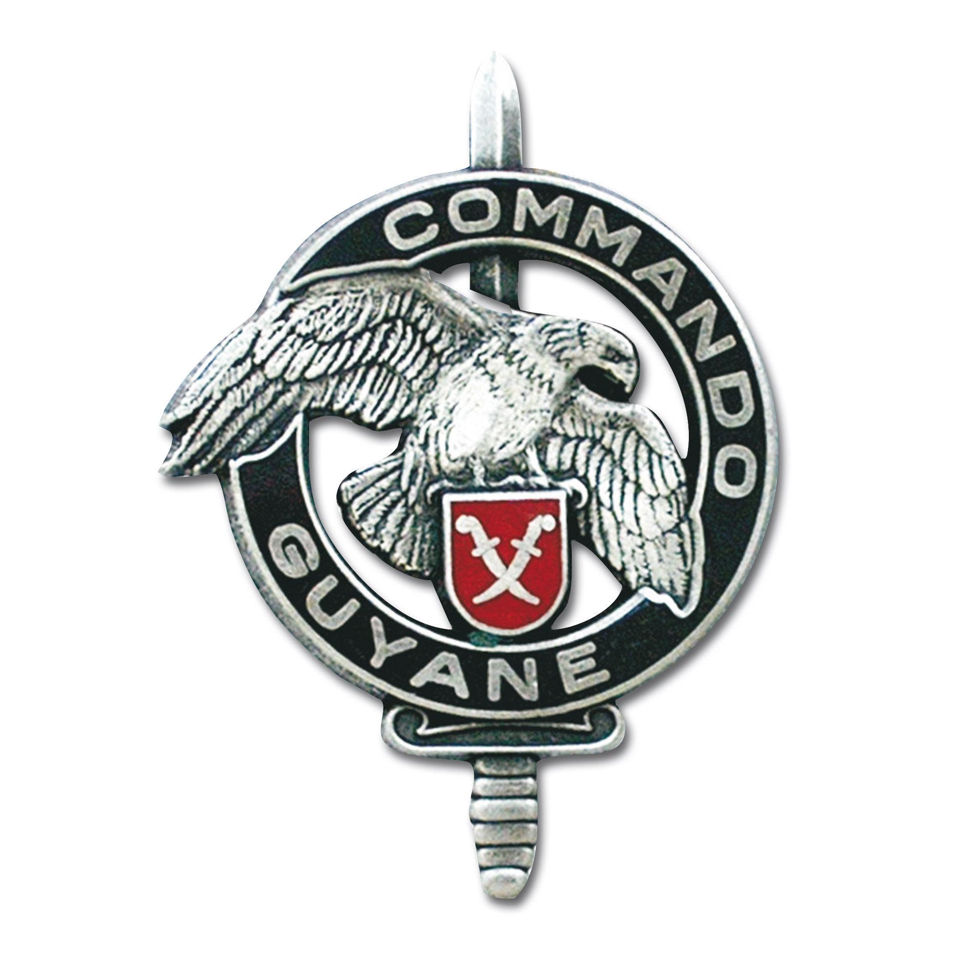 Abzeichen franz. Commando Guyane