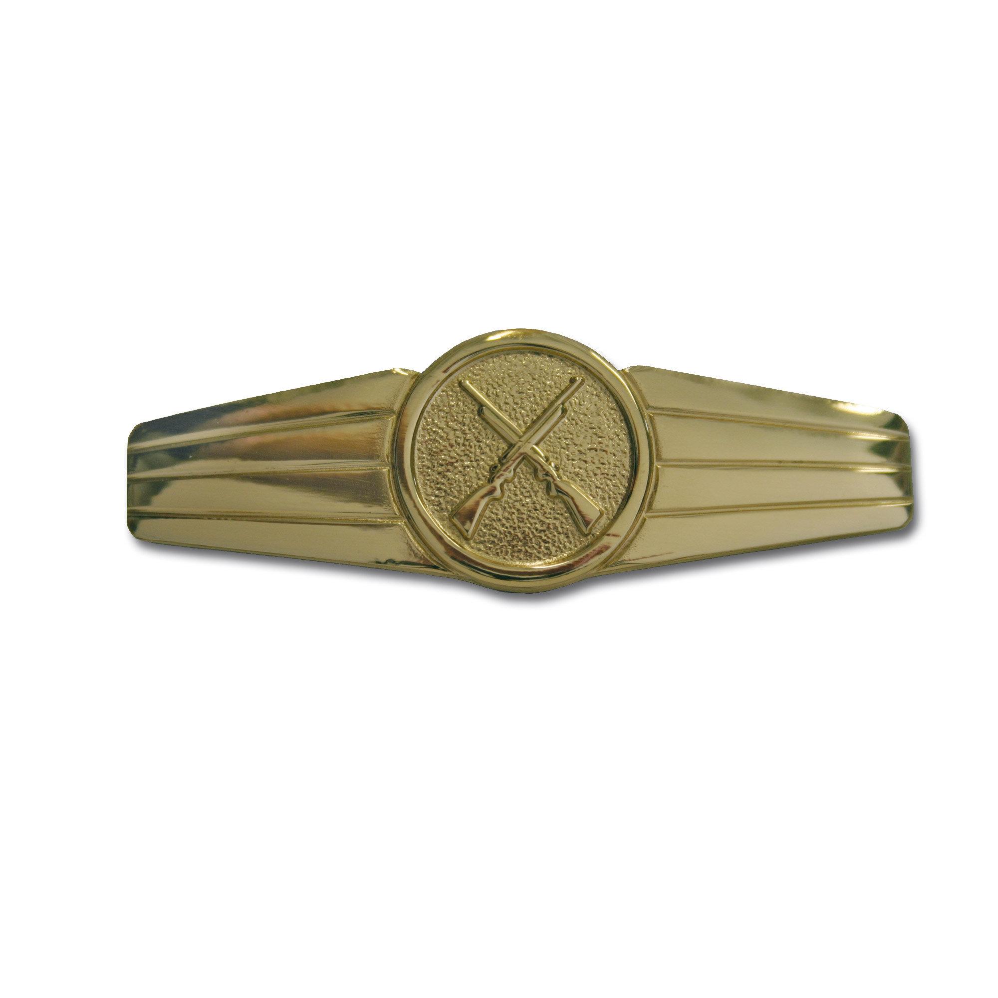 Abz. BW Sicherungspersonal Metall gold (neu)