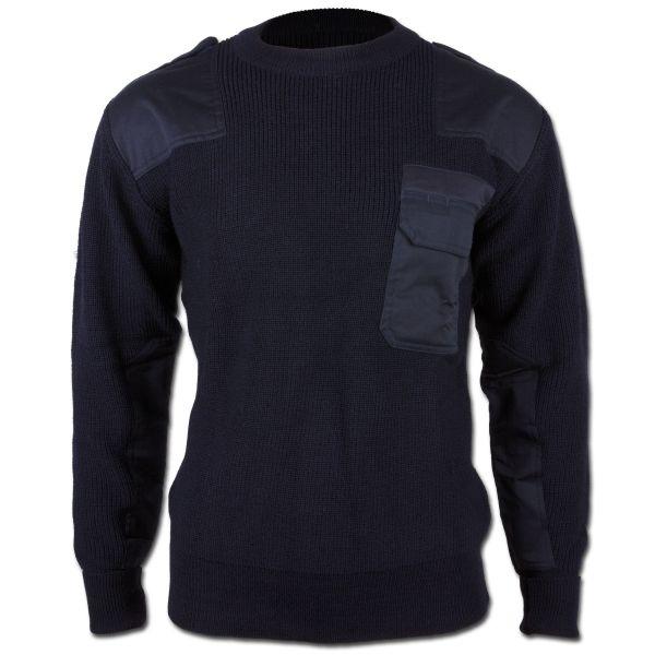 BW Pullover Acryl blau