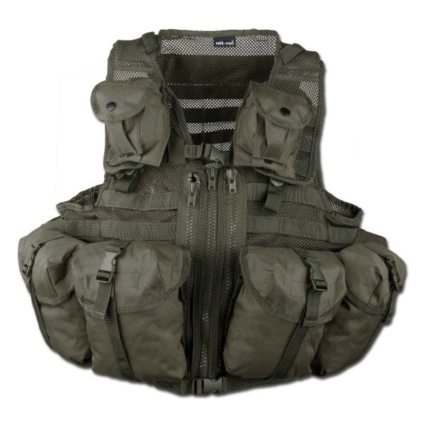 Einsatzweste Tactical Mil-Tec Modular oliv