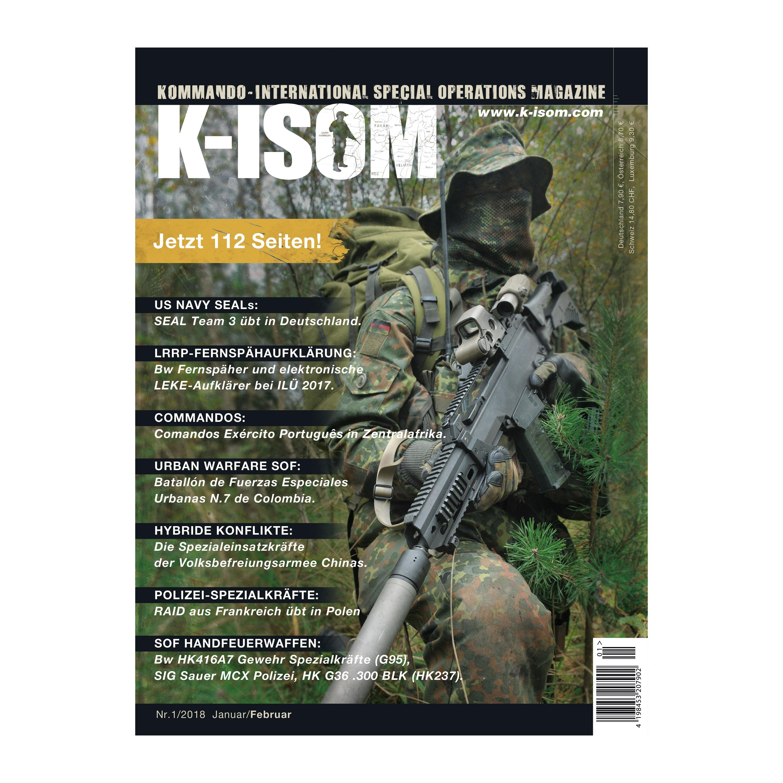 Kommando Magazin K-ISOM Ausgabe 01-2018