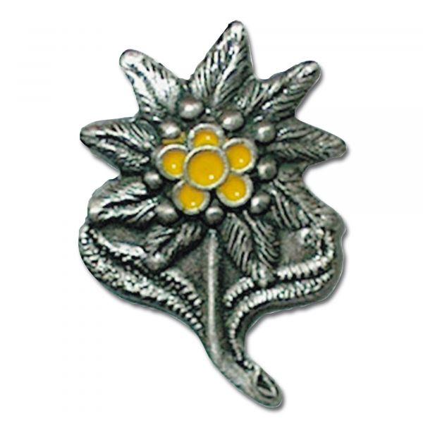 Pin Mini Metall Edelweiß