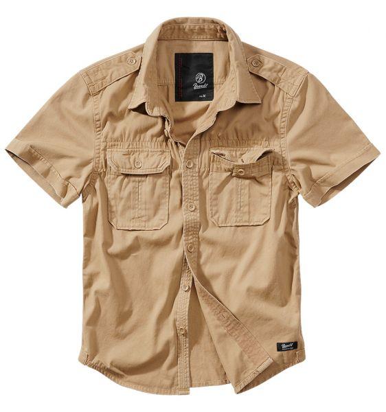 Brandit Shirt Vintage Shortsleeve camel