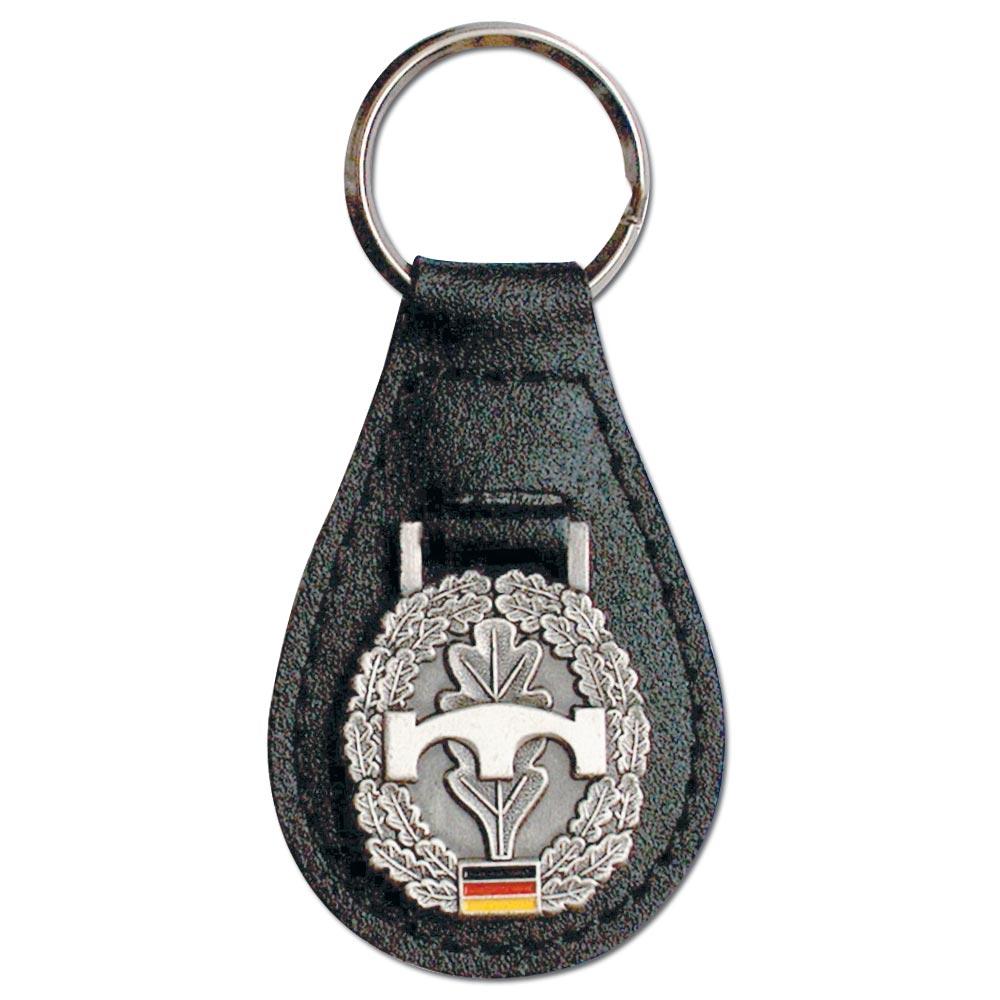 Schlüsselanhänger mit Barettabzeichen Pionier