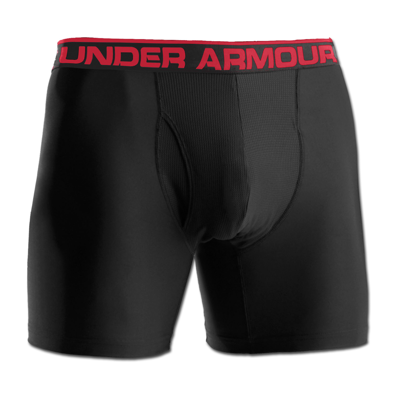 Under Armour Boxershorts 6 schwarz