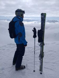 Perfekter Skirucksack