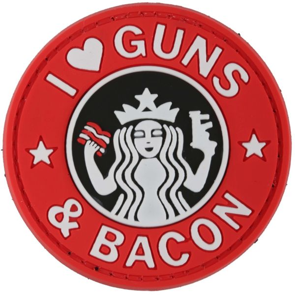 TAP 3D Patch Guns and Bacon fullcolor