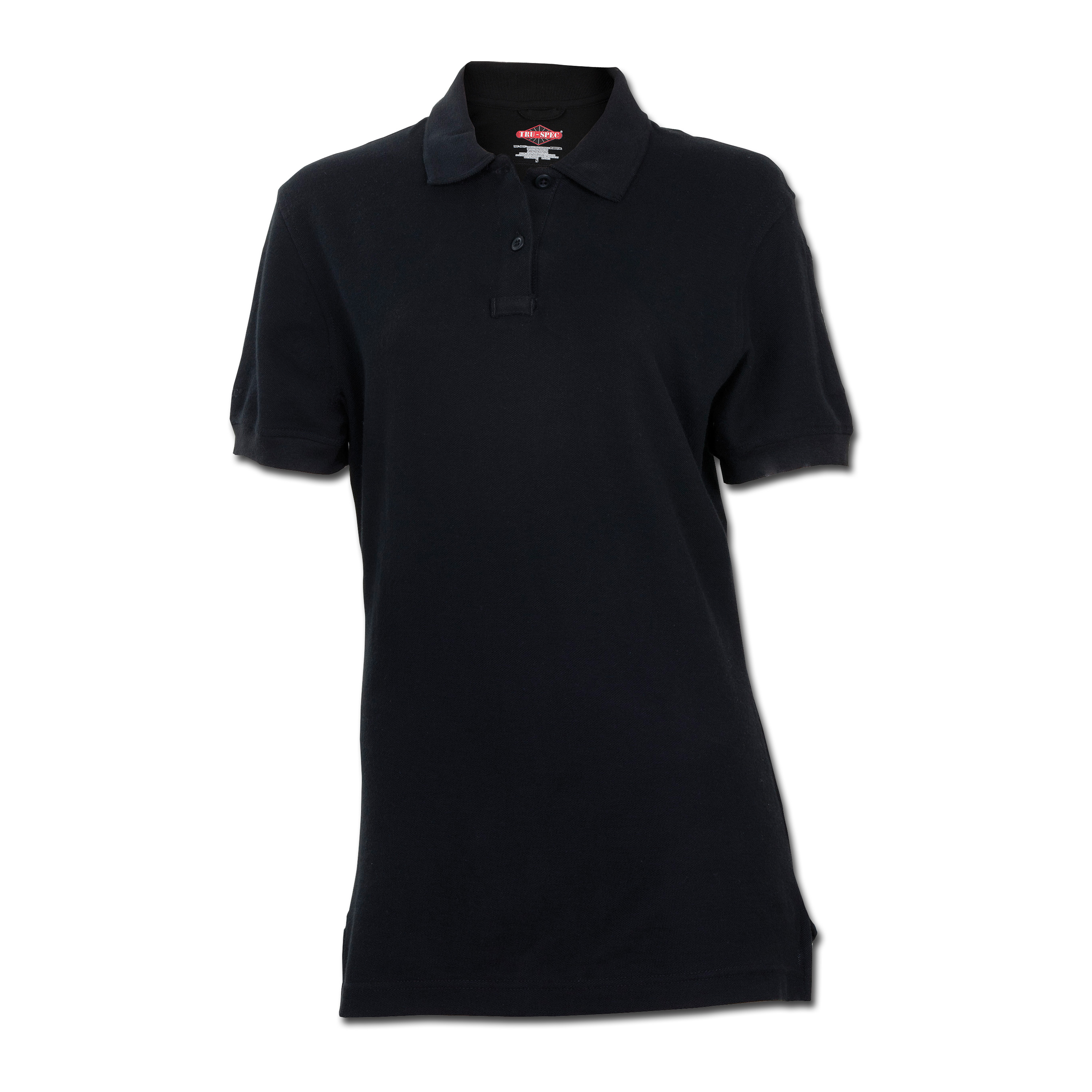 Polo Shirt Tru Spec Ladies classic schwarz