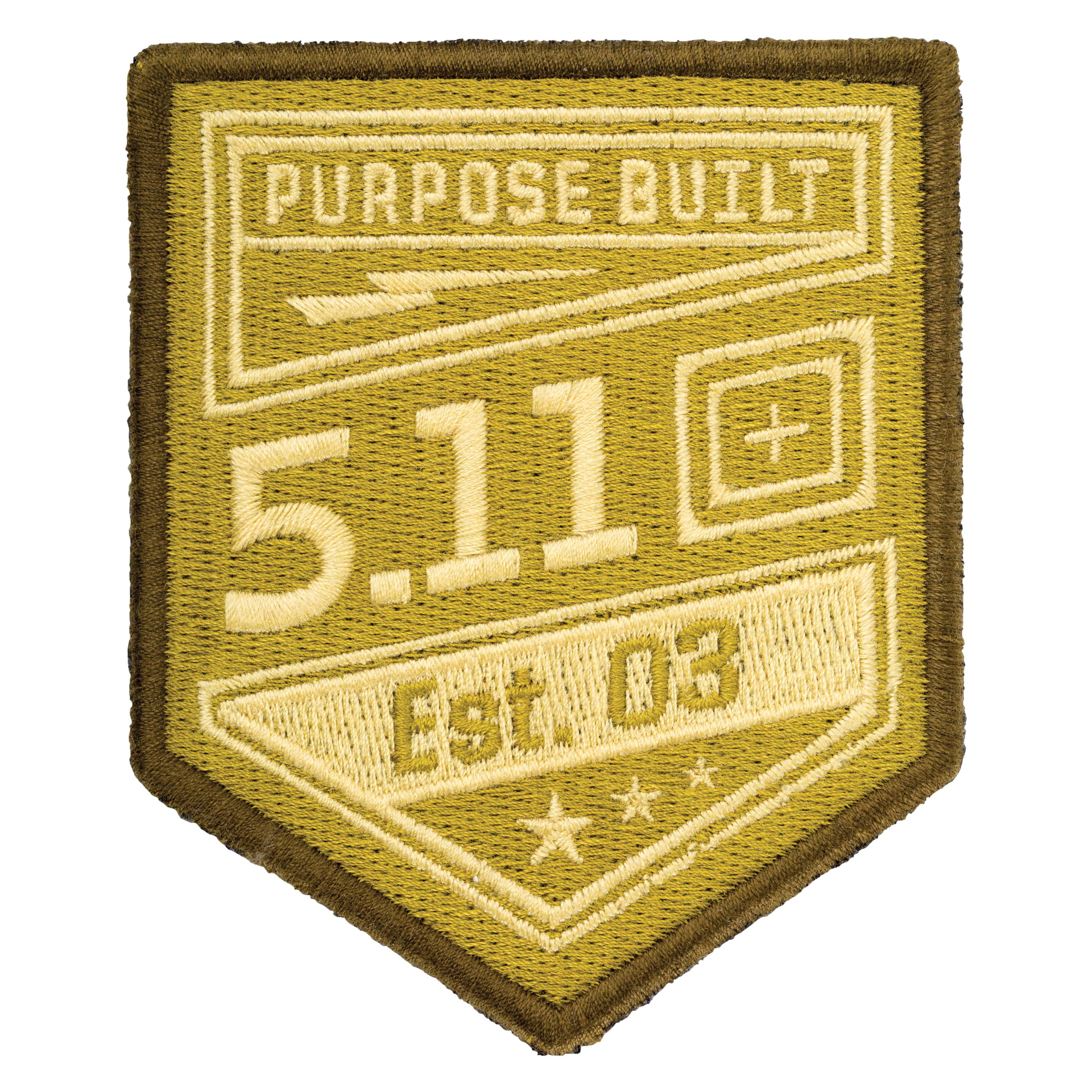 5.11 Patch Purpose Built coyote