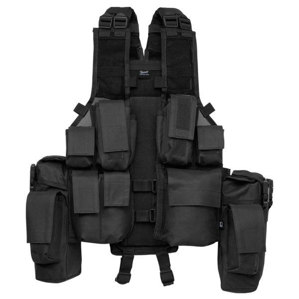 Brandit Weste Tactical Vest schwarz