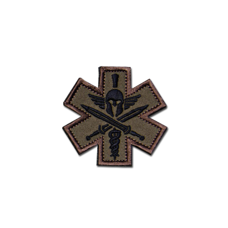 MilSpecMonkey Patch Tactical Medic Spartan forest