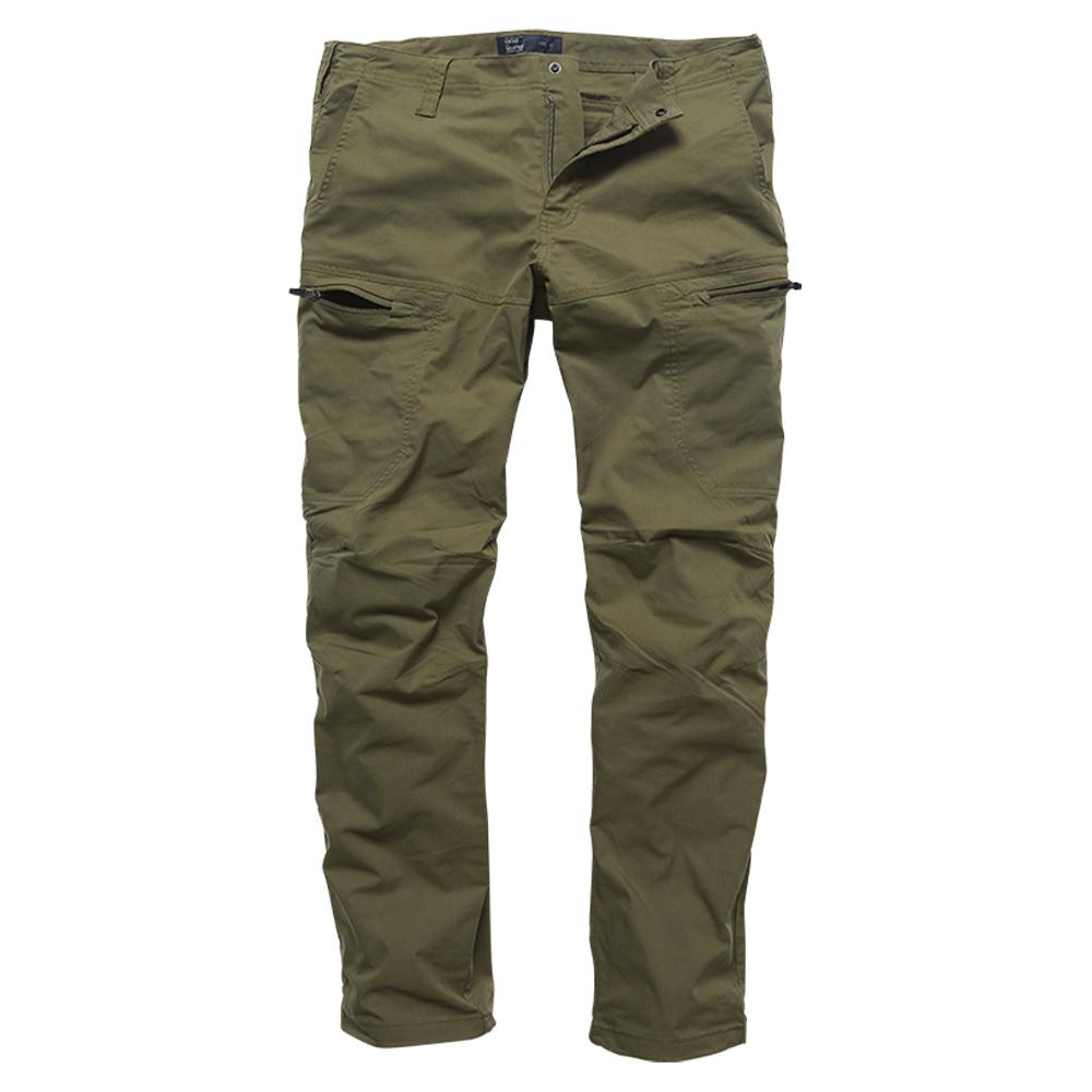 Vintage Industries Hose Kenny Technical Pants oliv