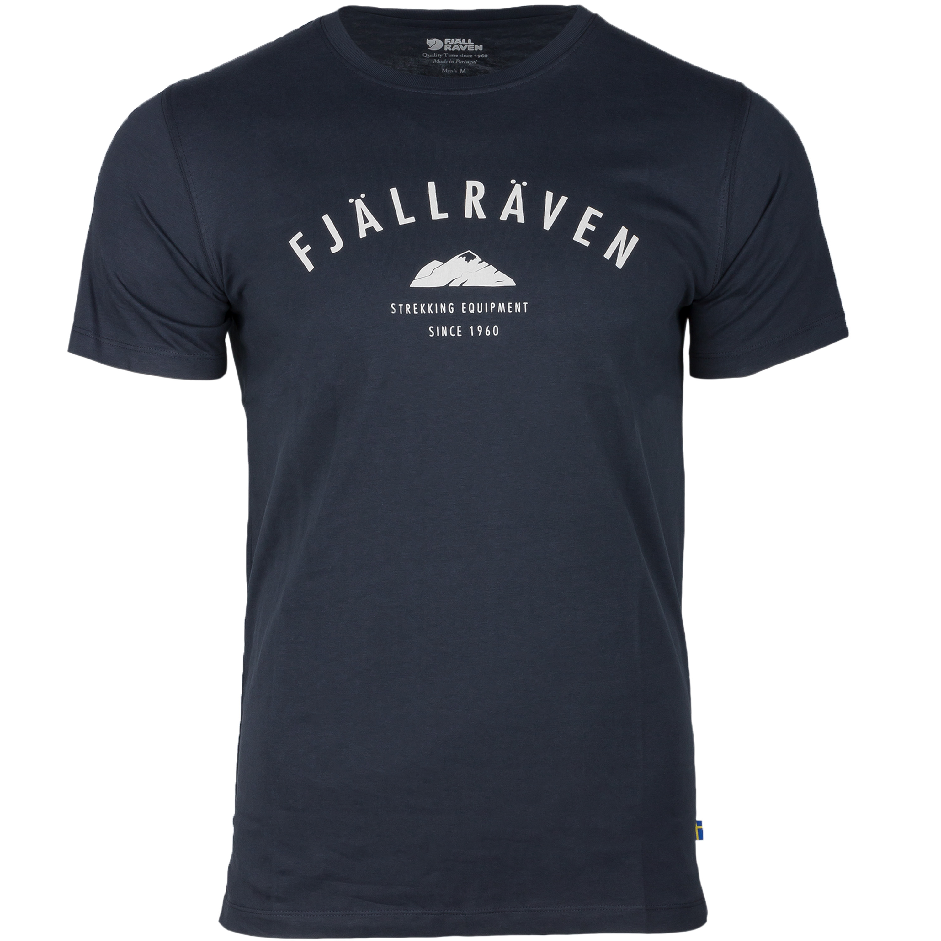 T-Shirt Fjällräven Trekking Equipment dunkel-blau