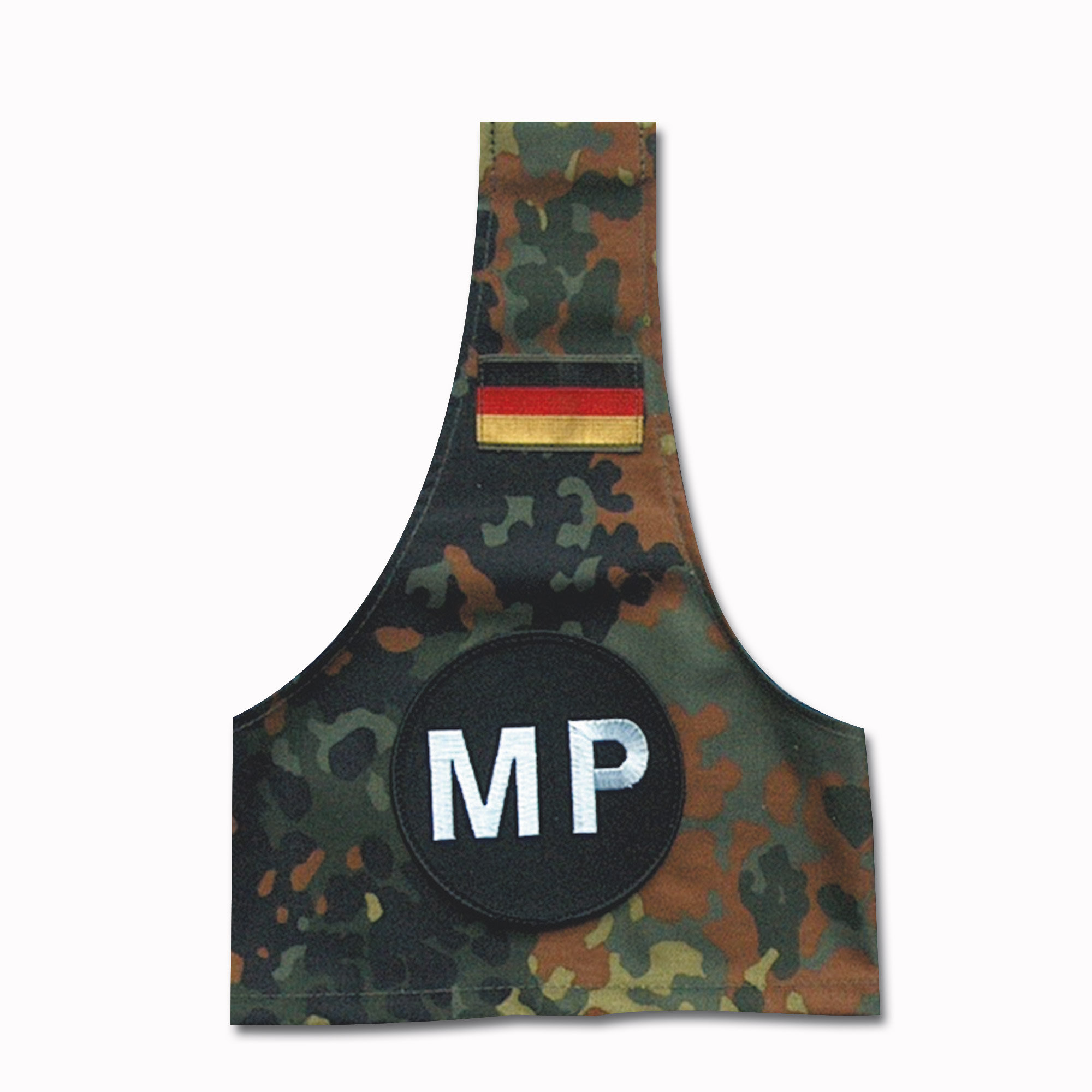 Armbinde MP flecktarn
