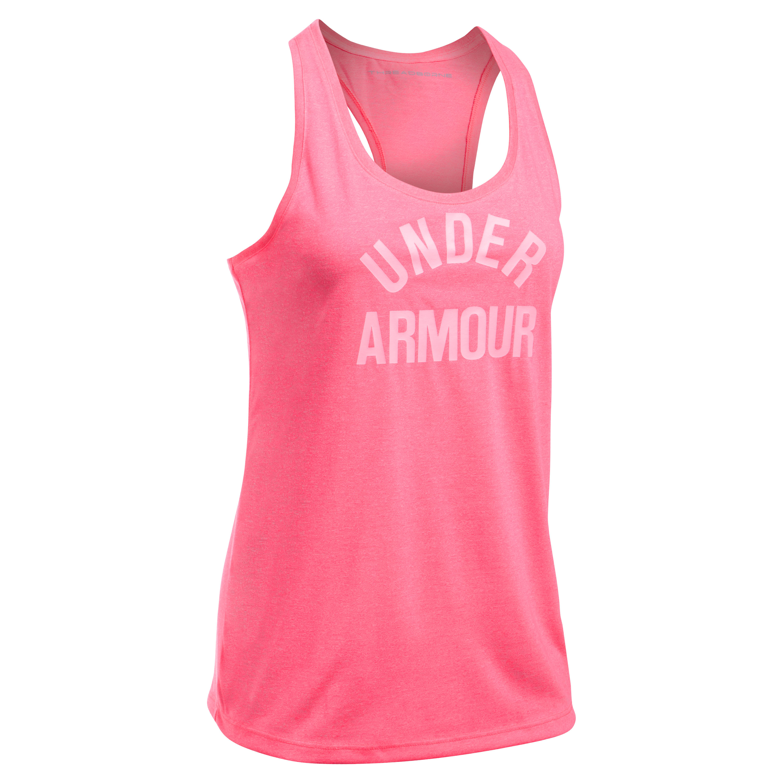 Under Armour Women Tanktop Threadborne Train pink