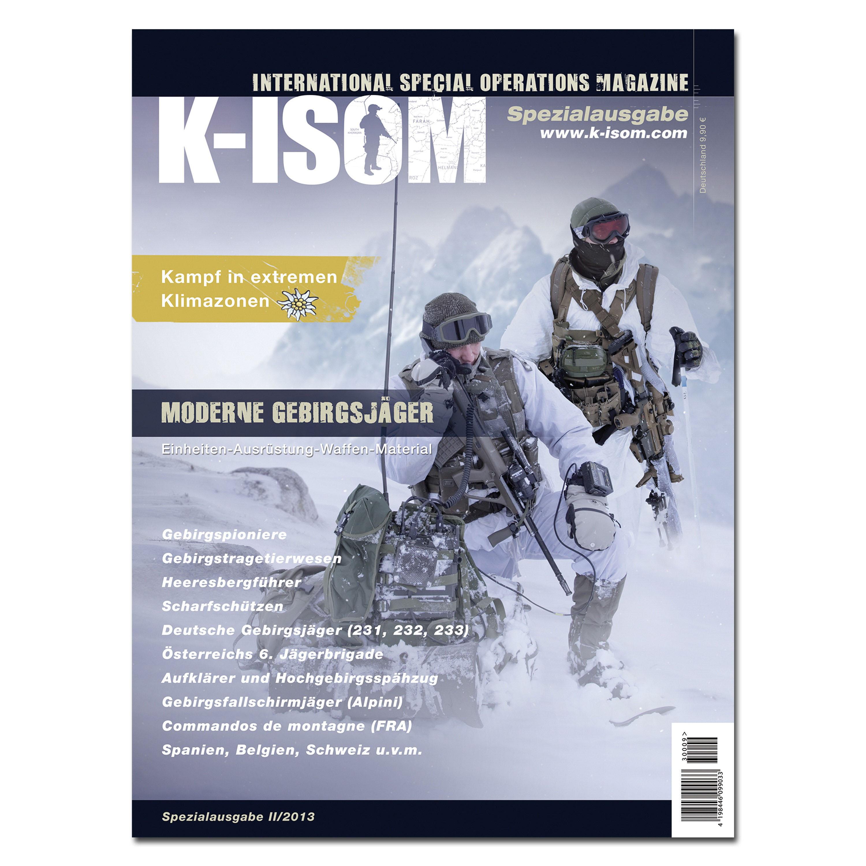 Kommando Magazin K-ISOM Spezial-Ausgabe 02-13 Mod. Gebirgsjäger