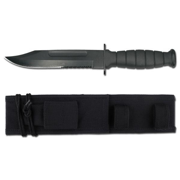 Messer US ARMY mit Scheide schwarz
