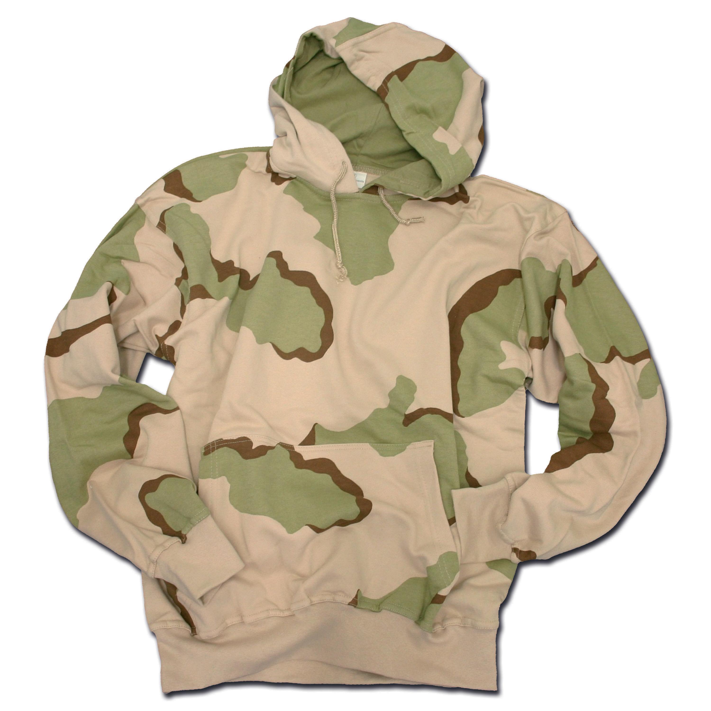 Hood Sweatshirt desert 3-color