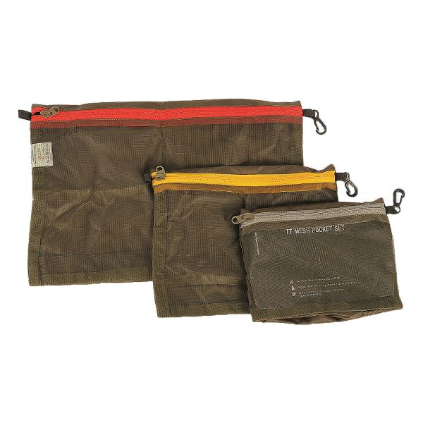 Tasche TT Mesh Pocket Set oliv