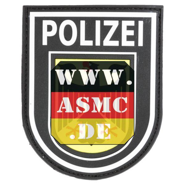 3D-Patch Bundespolizei bunt