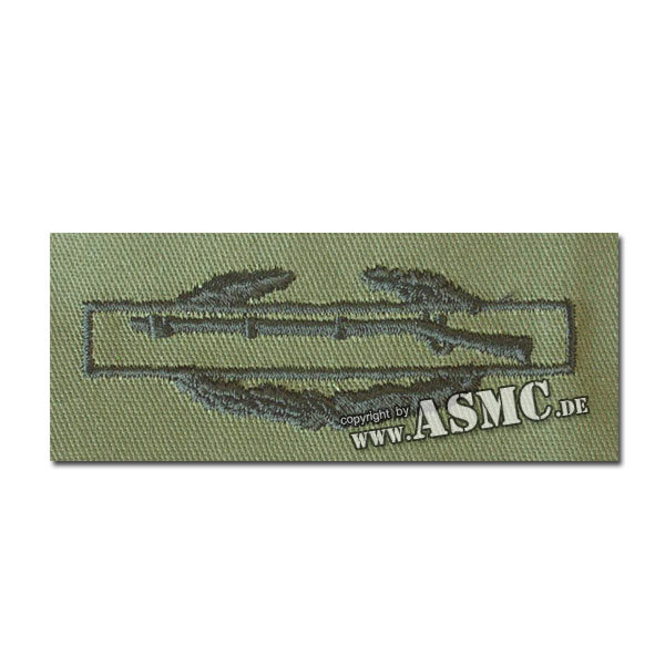 Abzeichen US Combat Infantry Stoff oliv