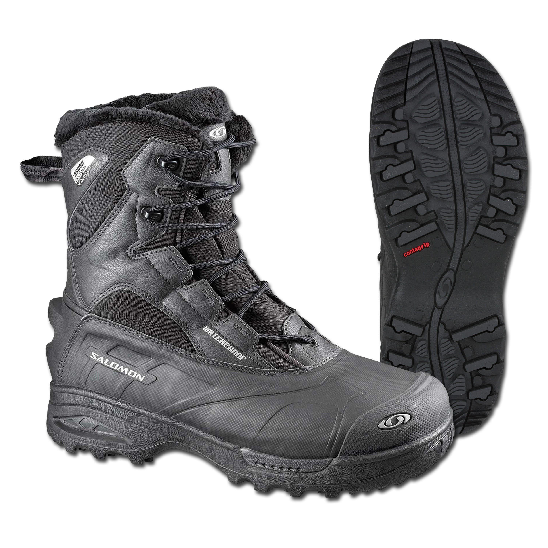Salomon Schuhe X Ultra MID GTX schwarz