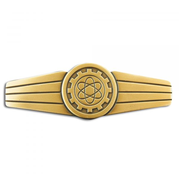 Abzeichen BW Technisches Personal Metall bronze