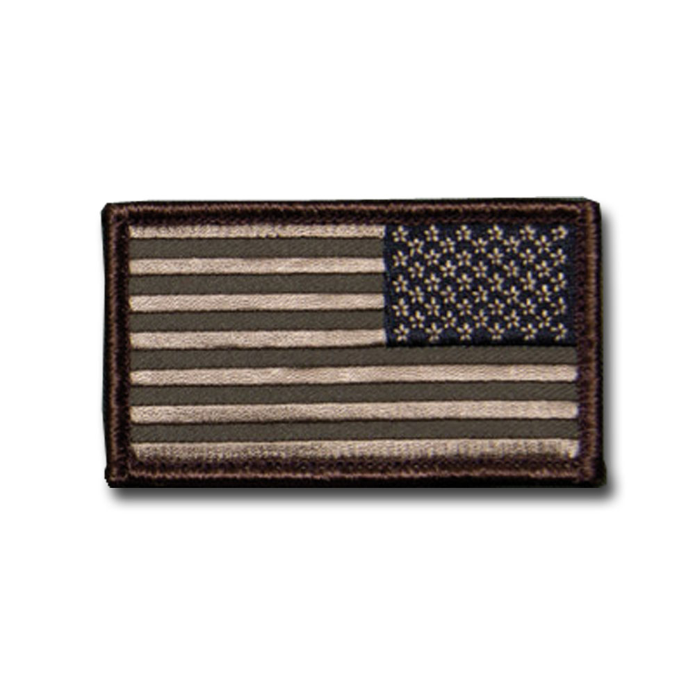 MilSpecMonkey Patch US Flag Reversed forest
