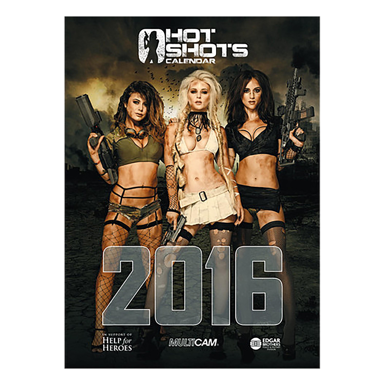 Hot Shots Calendar 2016