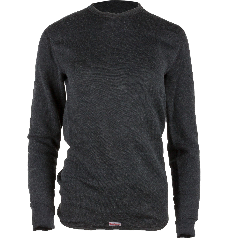Woolpower Unterhemd Langarm 200 grau