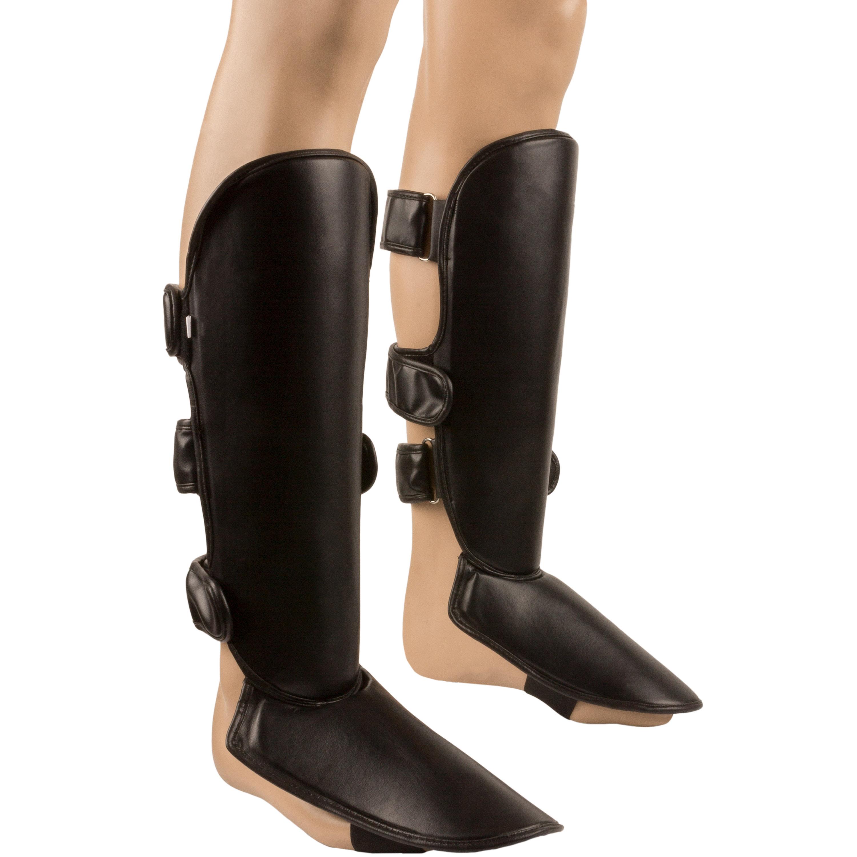 Protektor Fuß und Schienbein Kunstleder