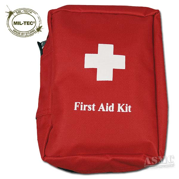 First-Aid Kit Mil-Tec large rot