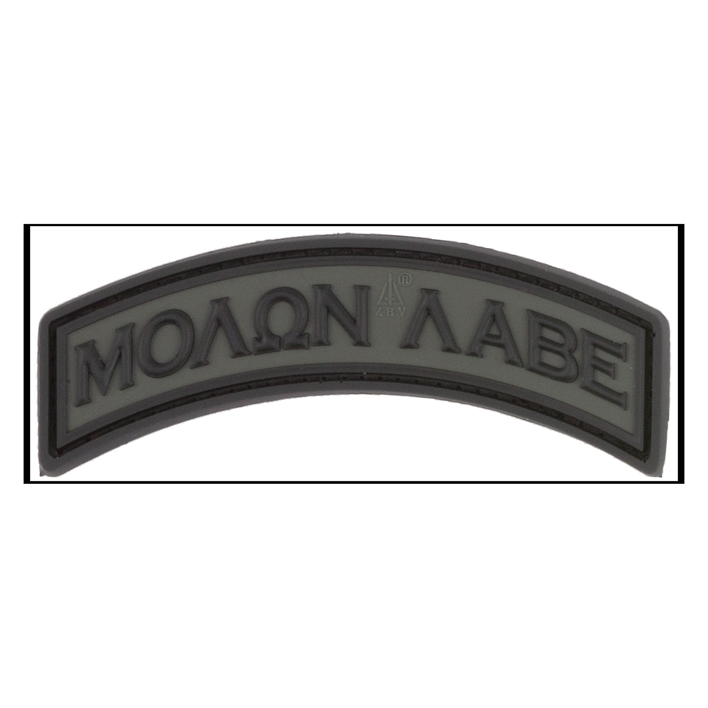 3D-Patch Molon Labe Tab battlegrey