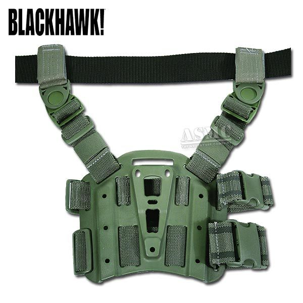 Blackhawk CQC Tactical Holster Plattform oliv