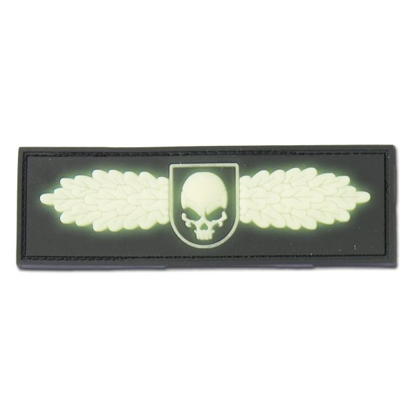 3D-Patch SOF Skull Badge nachleuchtend