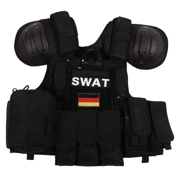 MFH Weste Combat schwarz