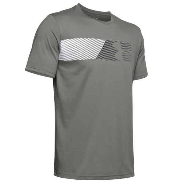 Under Armour Shirt Fast Left Chest 2.0 SS gravity green