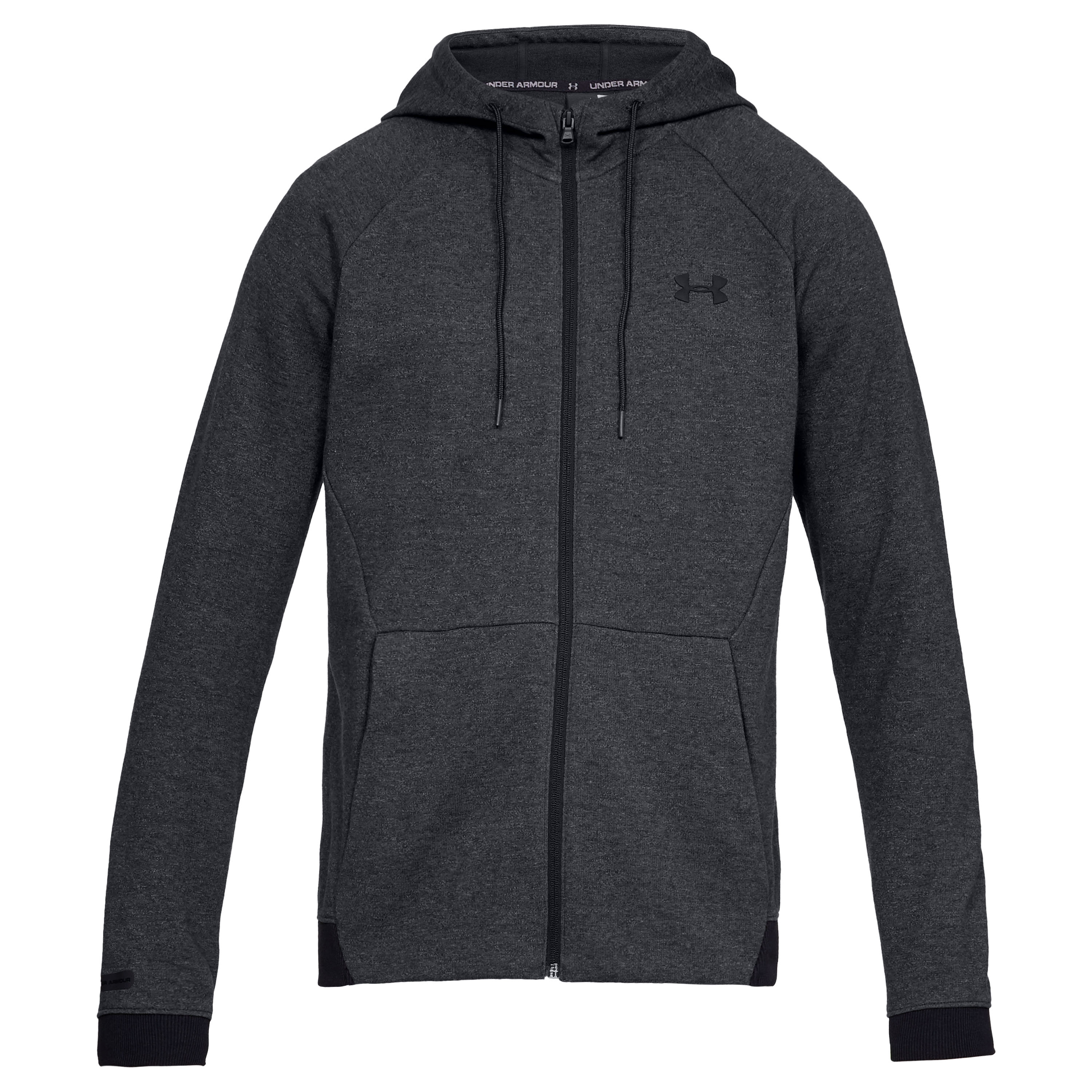 Under Armour Hoodie Unstoppable 2x Knit FZ schwarz