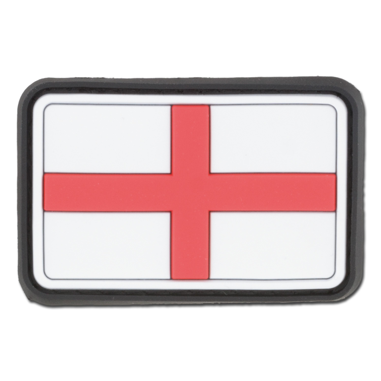 3D-Patch England Georgskreuz fullcolor klein