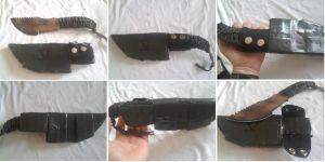 improvised sheath