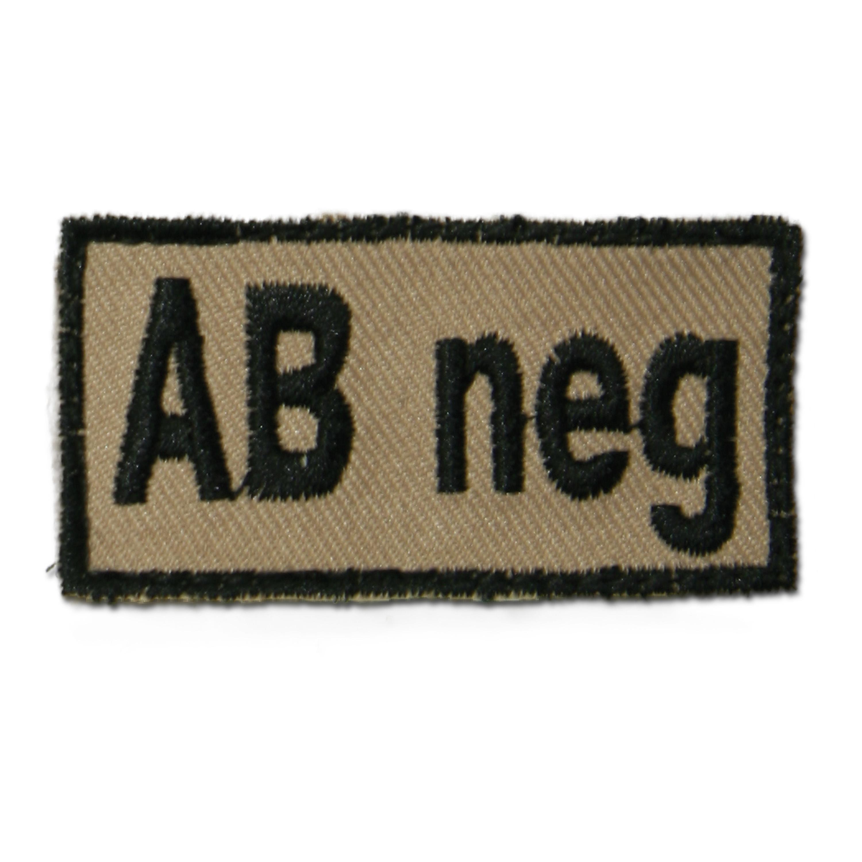 Abzeichen Bloodpatch AB neg khaki
