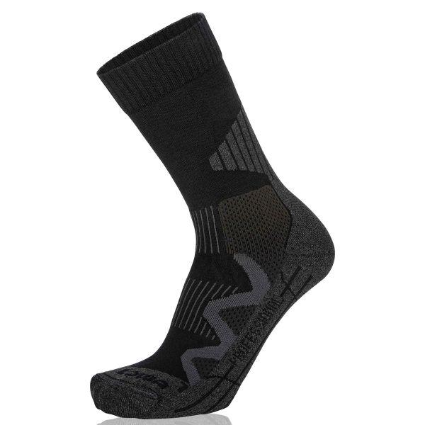 LOWA Socken 4-Season Pro schwarz