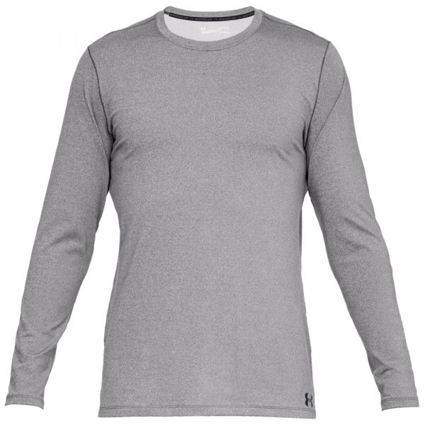Under Armour Langarmshirt Fitted CG Crew charcoal light heather