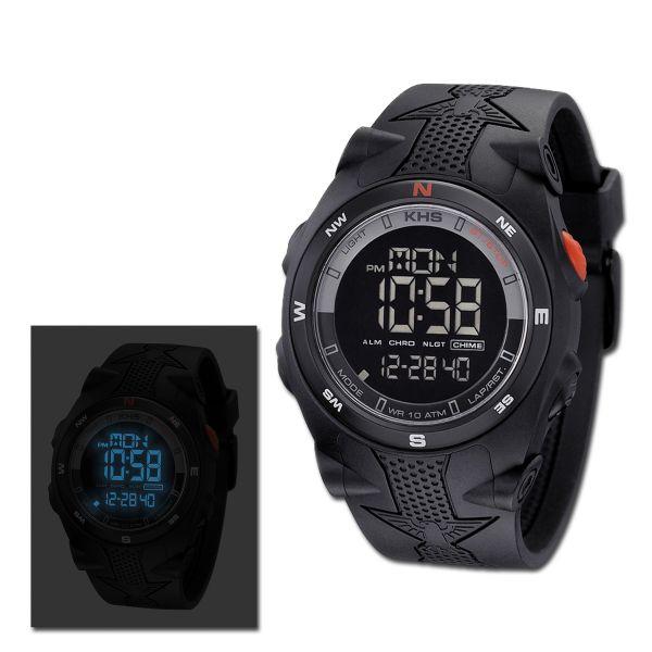 Uhr KHS Sentinel DC schwarz